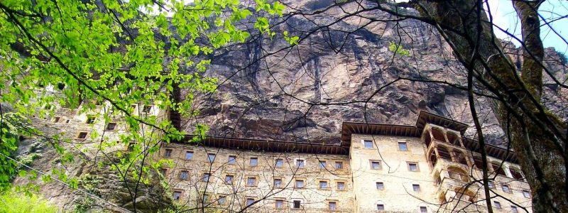 Монастырь Панагия Сумела — Трабзон