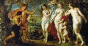 Суд Париса - Картина Питера Пауля Рубенса (1638 г.)