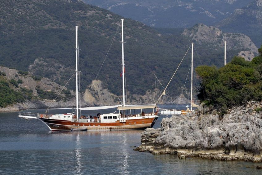 Морские прогулки в Турции
