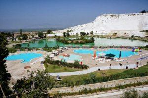 Отдых в Турции - Термальный курорт Памуккале