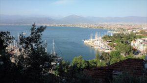 Вид на город Фетхие