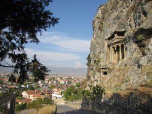 Гробница Аминтоса — Фетхие