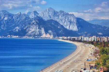 Анталия — райское место для отдыхав Турции