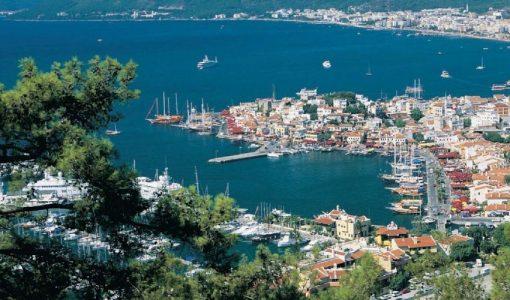 Мармарис — курортный город на побережье Эгейского моря