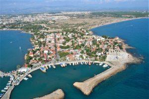 Сиде - курорт в Турции на Средиземном море