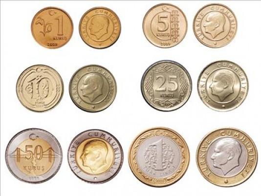 Turkish lira coins - kuruş