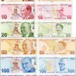 Турецкая Лира - банкноты